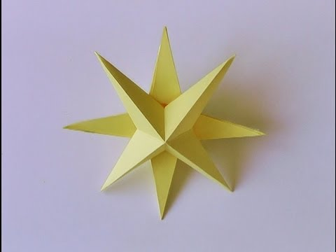Adornos navide os estrella de navidad 3d manualidades - Ideas para decorar estrellas de navidad ...