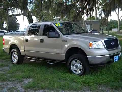 video used ford f150 xlt crew cab 4x4 for sale gainesville fl 1 866 371 2255 352 682 8667. Black Bedroom Furniture Sets. Home Design Ideas