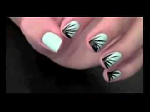 Three Stunning Nail Art Designs For Summer Xxx Youtube