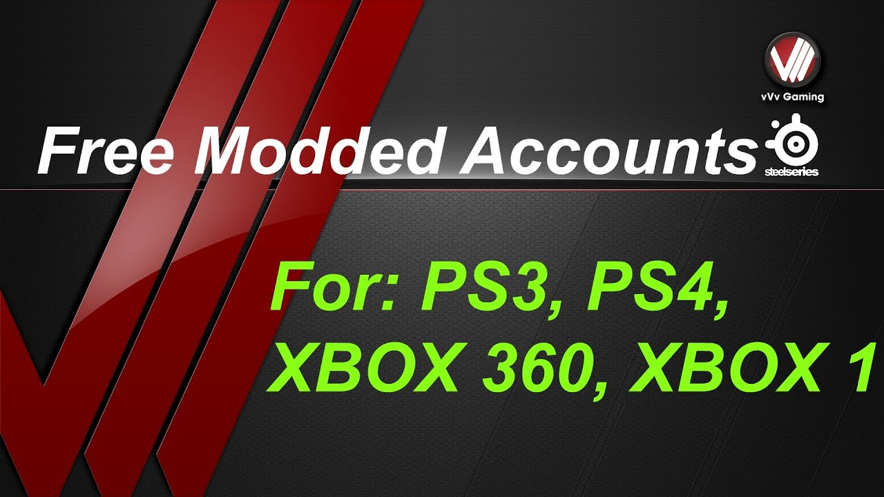 Free Modded Accounts For GTA 5BO2 On XBOX 1 XBOX 360 PS3 PS4 YouTube