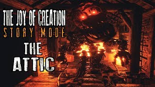 Download Video I MUST DIE..SO THEY CAN LIVE | THE JOY OF CREATION STORY MODE - THE ATTIC  ( COMPLETED + ENDING ) MP3 3GP MP4
