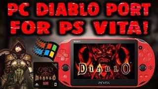 Diablo PC Game Ported Onto PS Vita! Setup Guide!