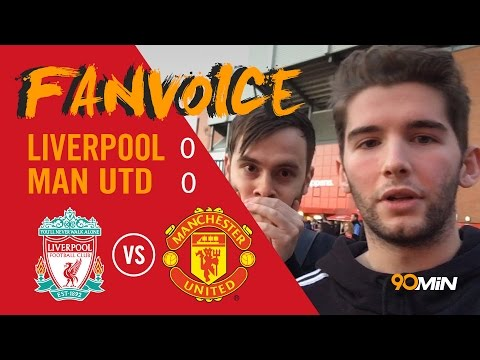 De Gea saves Manchester United against Liverpool | Liverpool 0-0 Manchester United | 90min FanVoice