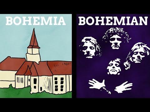 How Did The Name Bohemia Become An Adjective?