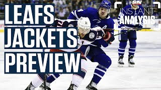Maple Leafs vs Blue Jackets Series Preview | Instant Analysis