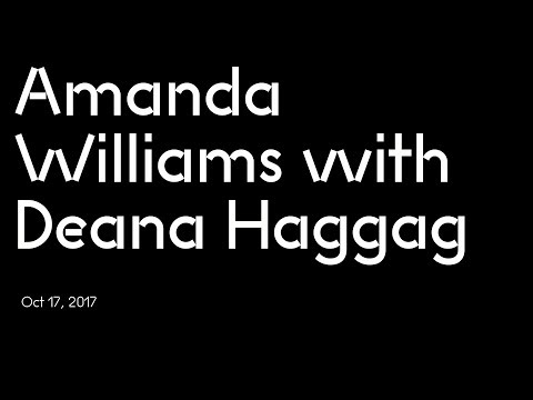 Amanda Williams with Deana Haggag