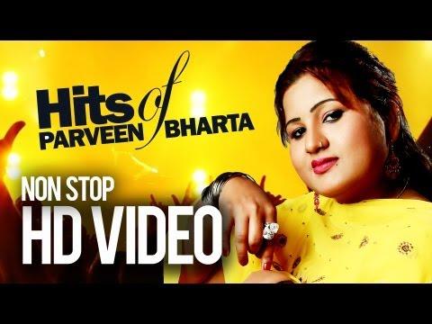 Parveen Bharta  Chan Nalon Sohni  Nonstop Super Duper Hit Songs 2013
