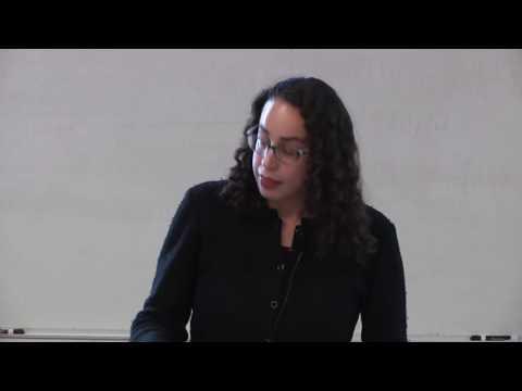 Pierre Genest Memorial Lecture 2015-16 by Stanford University Professor Amalia D. Kessler