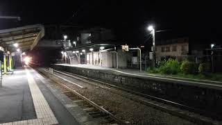 深夜の日豊本線 EF81貨物列車
