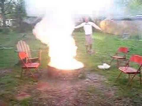Magnesium Fire