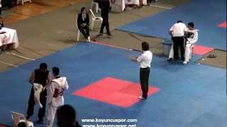 63kg Suleyman Subasi - Erhan Sari  (2012 Turkish Taekwondo Championships Under -21)