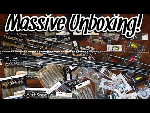 BRAND NEW 2020 FISHING TACKLE UNBOXING!!! The BEST Soft Plastics Available!!!