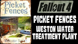 Fallout 4 Picket Fences Magazine in Weston Water Treatment Plant