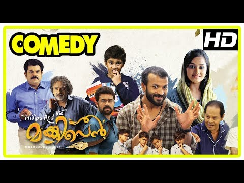 Philips and the Monkey Pen Movie | Full Comedy Scenes | Sanoop | Jayasurya | Remya | Mukesh