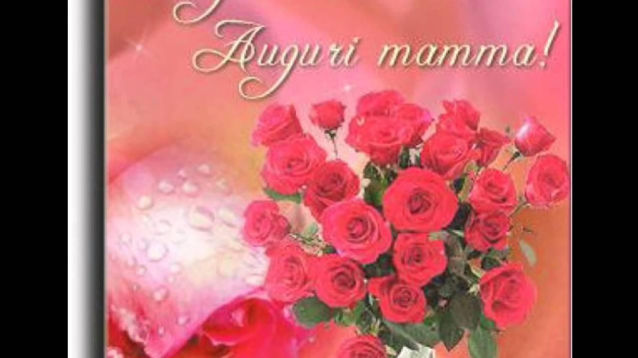 Estremamente Buon compleanno mamma - YouTube AL93