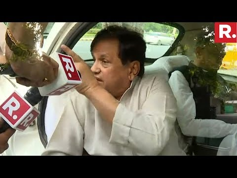 Republic TV Confronts Ahmed Patel | Sterling Biotech Case