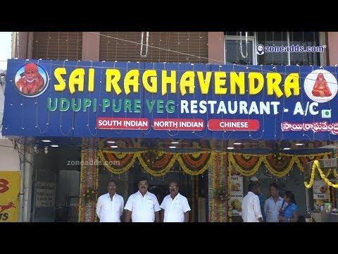 Sai Raghavendra Udupi Pure Veg Restaurant || Sainikpuri || zoneadds.com