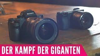 Der Kampf der Giganten! - Sony A7s ii vs. Sony A6300
