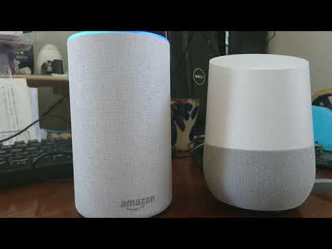 amzon echoとgoogle homeを比較してみた