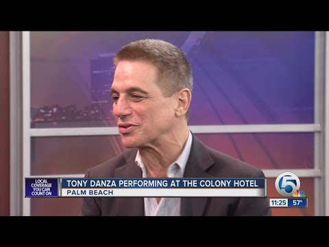Tony Danza visits WPTV, talks about performing in Palm Beach