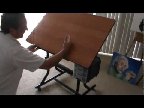 Craft Master Alvin Hobby Artists Draftsman Table Station Review By Attack Artist