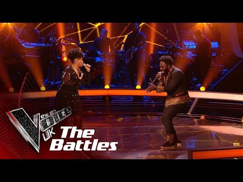 Emmanuel Smith VS Khadija - 'Fallin' | The Battles | The Voice UK 2019