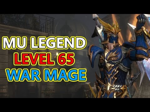 MU Legend Online CBT2 Level 65 War Mage (Max) Party Dungeon