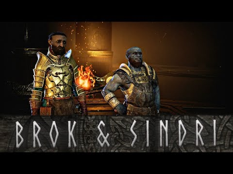 God of War - The Story of Brok and Sindri, The Huldra Brothers
