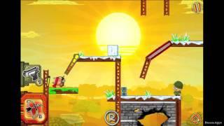 Hambo Painkiller level 2-37 Walkthrough Gameplay (Gold Medal Level 37 Solution)