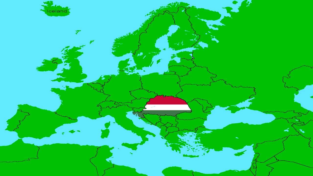 régi magyarország térkép Nagy Magyarország   YouTube régi magyarország térkép