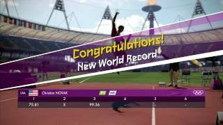 London 2012 - Javelin Throw (WR) and Discuss Throw (OR) Smashed Gameplay