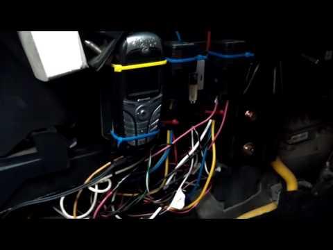 """Самодельный автозапуск с сотового телефона через вход """"Valet"""" автосигнализации"""