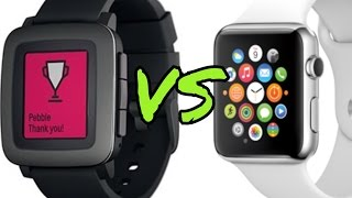 APPLE WATCH VS PEBBLE TIME - Which one should you buy?