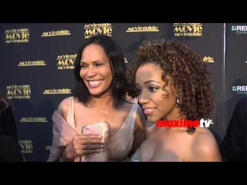Tracey Ross & Chrystee Pharris Red Carpet    Movieguide Awards 2015