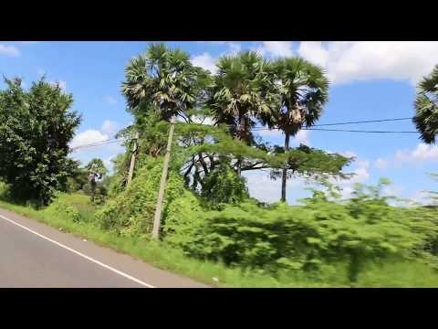 Sri Lanka Colombo to Jaffna  Traveling HD