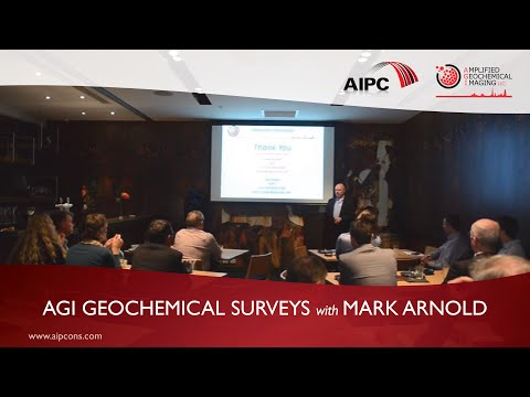 Geochemical mapping & surface geochemistry technology (Mark Arnold, Perth, June 2016)