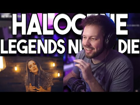"Newova REACTS To ""Legends Never Die / Against The Current - Cover By Halocene"" !!"