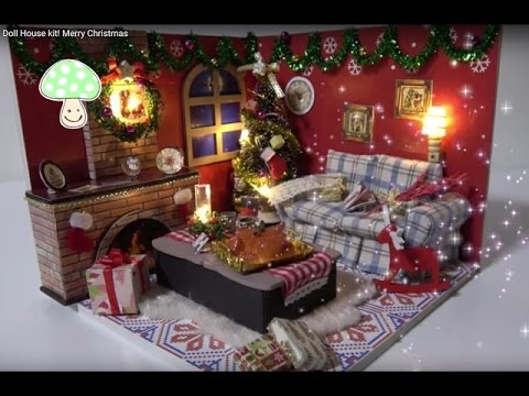A Merry Christmas Miniature Dollhouse Picture