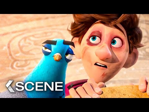 Pink Goo Attack - SPIES IN DISGUISE Movie Clip (2019)