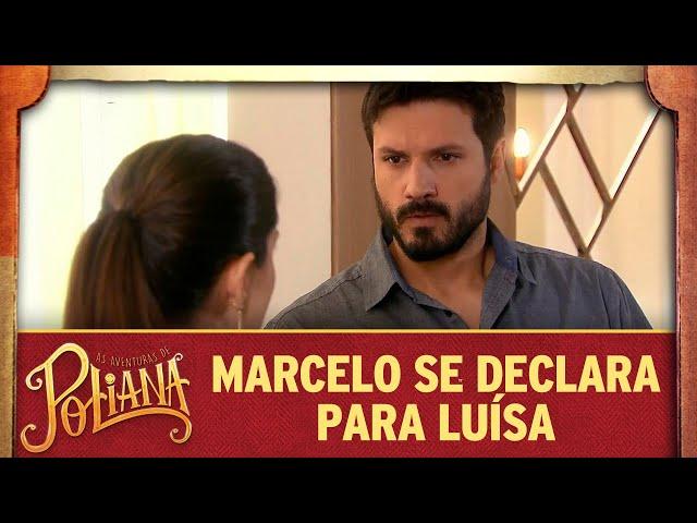 Marcelo se declara para Luísa | As Aventuras de Poliana