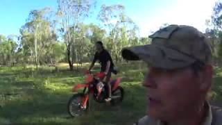 Stalking pigs out West NSW