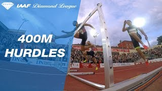 Karsten Warholm takes the victory infront of the home crowd - IAAF Diamond League Oslo 2017