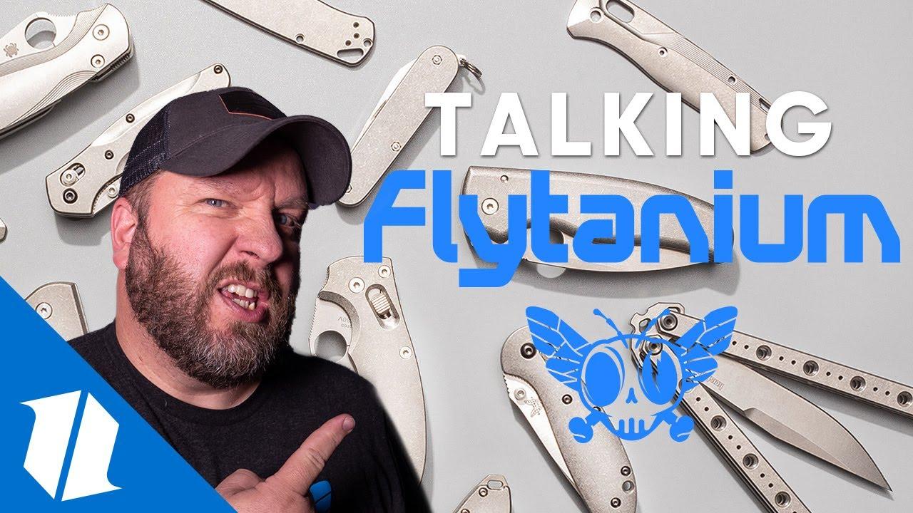 Flytanium Upgrades Blade HQ with BEST New Pocket Knife Customization! | Knife Banter