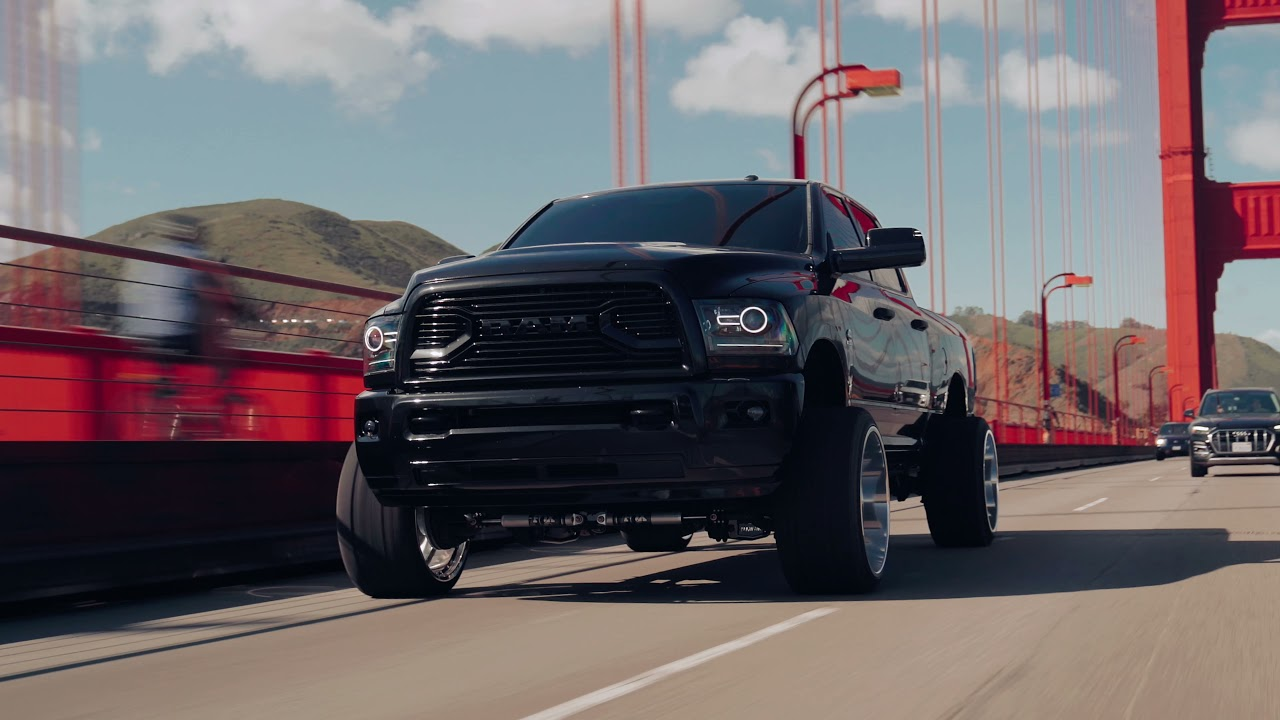 Dodge Ram Cummins explores the Golden Gate [4K]