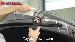 Toyota Inside Look Genuine Paint Protection Film