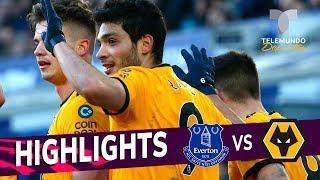 Everton vs. Wolverhampton: 1-3 Goals & Highlights | Premier League | Telemundo Deportes