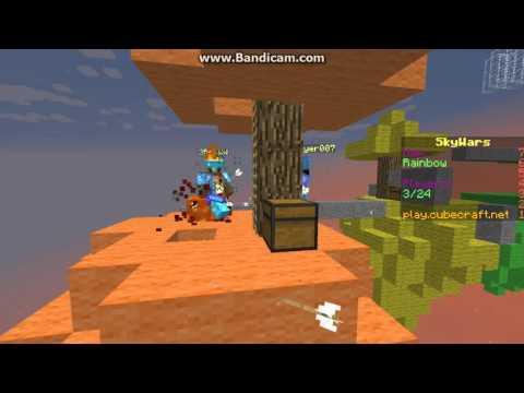 Deathslayer007 hacking! [Kill-Aura, Anti-Knockback and Fly]