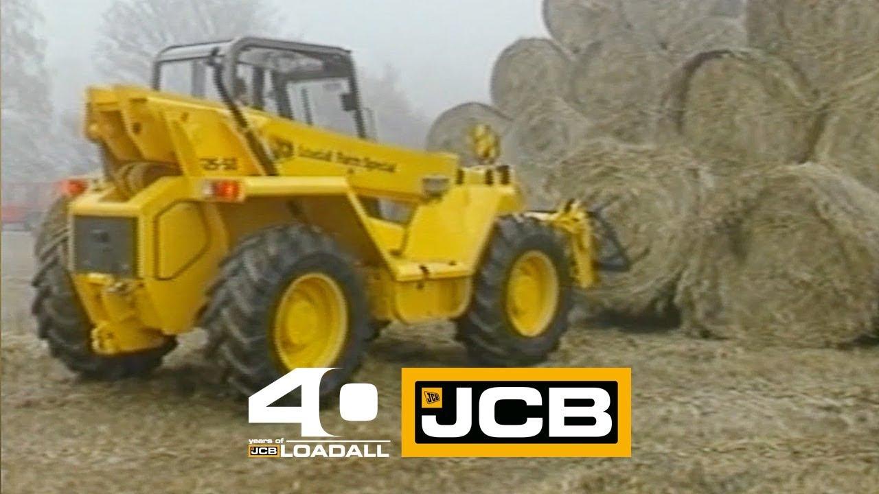 JCB 525 in Dairy Farming - Celebrating 40 Years of Loadall