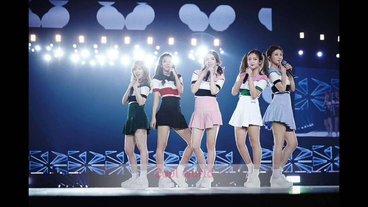 [PTT- RV] Red Velvet - Cool World 中字歌詞 - YouTube