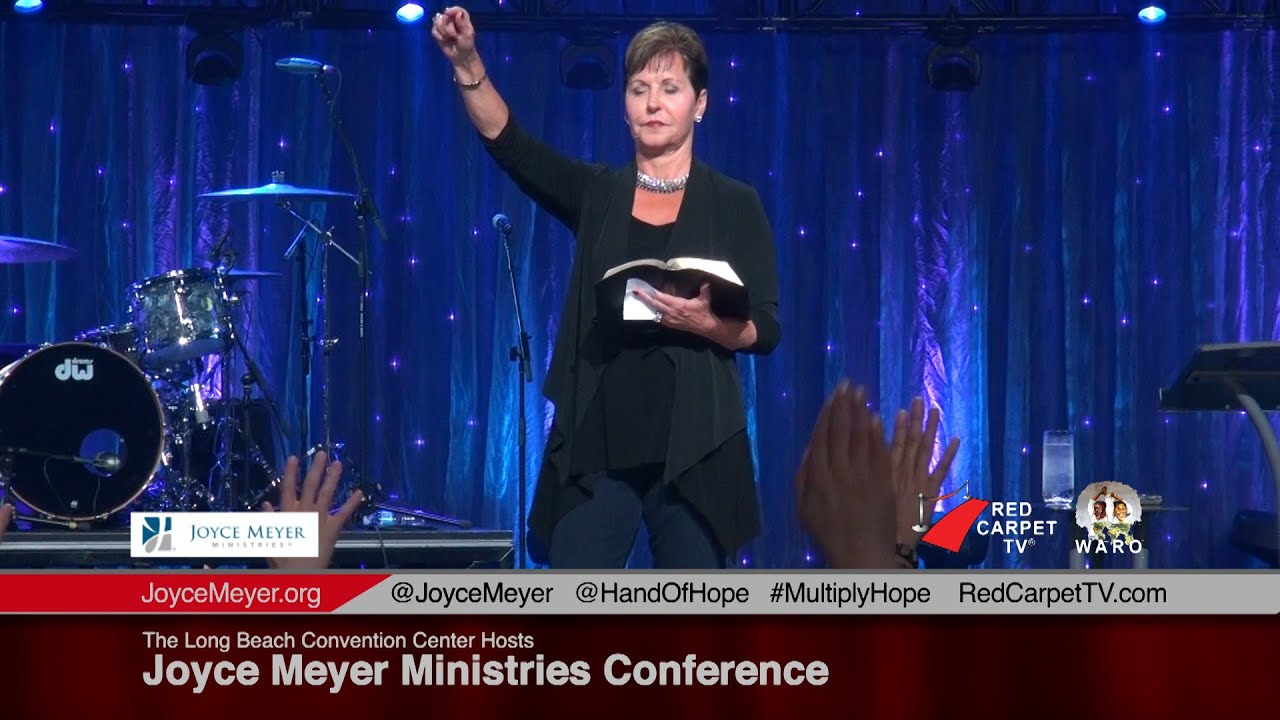 The Long Beach Convention Center Hosts Joyce Meyer Ministries Conference